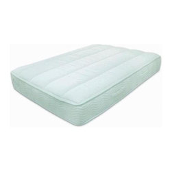 Keetsa - The Keetsa Plus iCoil Mattress with Memory Fo - Choose Size: California KingSleep comfortably on this firm iCoil mattress with the memory foam top layer. The mattress is made of BioFoam that is made with a blend of natural and synthetic materials. 9-Inch tight top coil. iCoil mattress with body-conforming memory foam layer on top. iCoils are independent coils that support every part of your body with the perfect amount of supple and responsive flex. Less motion transfer from sleep partners. The firm memory foam top layer is supportive and comfortable. Great support for your back.. EverGreen, made from all-natural green tea, is embedded into the memory foam for long-lasting natural odor control.. Unbleached, 100% organic cotton cover with channel quilting that is stuffed with wool and microfibers. Durability tested exceed industrial standards. Complies with the Federal fire safety standard of 16CFR1633. Free of PBDEs. Certified organic cotton cover.. Twin: 75 in. L x 39 in. W (70 lbs). Full: 75 in. L x 54 in. W (93 lbs). Queen: 80 in. L x 60 in. W (98 lbs). King: 80 in. L x 76 in. W (141lbs). California King: 84 in. L x 72 in. W (135 lbs)No. of iCoil count. Twin: 450. Full: 630. Queen: 768. King: 960. California King: 1015Basic. Straightforward. Comfortable. Keetsa Mattresses are world-class quality with affordable prices because of the unique packaging that enables us to reduce the freight costs. This packaging also helps to substantially reduce the carbon foot print.