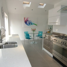 Contemporary Kitchen Countertops by Cheshire Granite Worktops