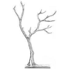 Cast Metal Jewelry Tree   west elm