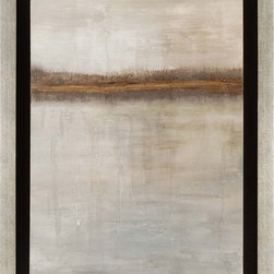 Paragon Decor - Tranquil Horizon II Artwork - Exclusive Hand Painted Canvas - Mounted on Board