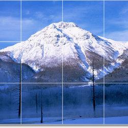 Picture-Tiles, LLC - Winter Photo Mural Tile W056 - * MURAL SIZE: 24x32 inch tile mural using (12) 8x8 ceramic tiles-satin finish.