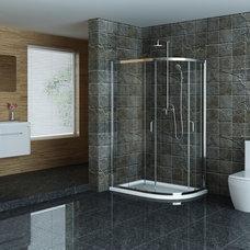 Modern Showers Technik Offset Sliding Door Enclosure 1000mm x 800mm