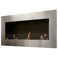 Modern Fireplaces by Luz Modern