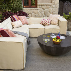 Contemporary Outdoor Sofas by Horchow