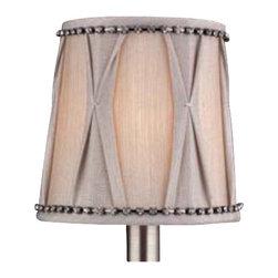 Allegri - Allegri SA112 6-Pack Fabric Shade - Allegri SA112 6-Pack Fabric Shade