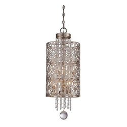 Minka Lavery - Minka Lavery 4846-276 6 Light Indoor Full Sized Pendant Lucero - Six Light Indoor Full Sized Pendant from the Lucero CollectionFeatures: