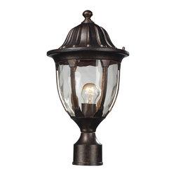 Elk Lighting - Elk Lighting 45005/1 Outdoor Post Light - Elk Lighting 45005/1 Outdoor Post Light