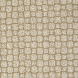 Shaw Carpet style Prime Time in color Frappe - This tailored grid work pattern uses sophisticated colors to achieve its adaptable, upscale design.