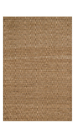 """Loloi Rugs - Loloi Rugs Istanbul Collection - Natural / Gold, 3'-6"""" x 5'-6"""" - The warm, all natural tones of 100% jute of the Istanbul Collection offer raw elegance and an organic feel for any room. Intricately hand woven in India, Istanbul is available in simple geometric patterns."""