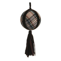 Silk Plants Direct - Silk Plants Direct Plaid Ball Ornament (Pack of 12) - Pack of 12. Silk Plants Direct specializes in manufacturing, design and supply of the most life-like, premium quality artificial plants, trees, flowers, arrangements, topiaries and containers for home, office and commercial use. Our Plaid Ball Ornament includes the following: