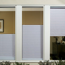 Eclectic Roman Shades by Home Source Custom Draperies & Blinds