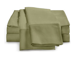 ExceptionalSheets - 1200 Thread Count - Egyptian Cotton Sheet Set by ExceptionalSheets - Our 100% Egyptian Cotton Sheets cannot be beaten when it comes to the price. You will not find better quality at a better price! They're available in multiple size ranges and colors making up almost 200 options! Whether the sheets are a gift for a friend or you are buying for yourself, you know you are getting top-quality luxury with Exceptional Sheets.