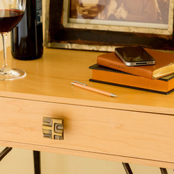 Featuring the Rio Collection knob on side table - Gavin McLean