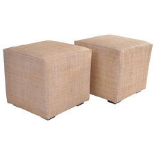 Contemporary Footstools And Ottomans by oomph