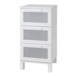 Tord Björklund - ANEBODA 3 drawer chest - 3 drawer chest, white