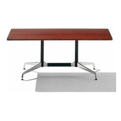 Herman Miller | Eames® Rectangular Table, Laminate Top/Segmented Base