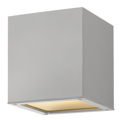 Hinkley Lighting - Hinkley Lighting 1763TT Kube Outdoor - A collection of sleek designs, Kube's contemporary style provides a chic, minimalist statement to complement a variety of exteriors.