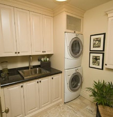 traditional laundry room by Darlene E Shaw Interior Concepts