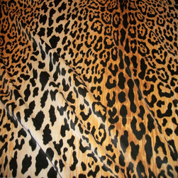 Leopardo cotton velvet designer fabric - Gorgeous Leopardo Velvet Cotton designer fabric