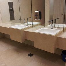 Modern Bathroom Sinks by lim hyung chul