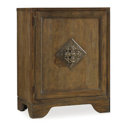 "Hooker Furniture - Hooker Furniture Sanctuary Left Bunching Cabinet in Middlecross Aged Oak - Pursue serenity at home..Create your own personal sanctuary, a special place where you can experience..comfort within. Hardwood Solids and Oak Veneers. Dimensions: 27""W x 20""D x 36""H."