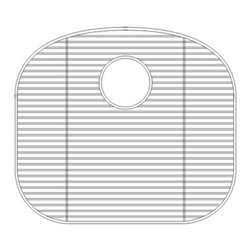 Wells Sinkware - Wells Sinkware GWS2018 Sink Grid - Heavy gauge stainless steel, Fits CHU2421-10/CHU2421-8/CHT2522-10L/CHT2522-10R/CHT2522-8L/CHT2522-8R/CHU3721-97/CHU3721-79/CHT3822-97/CHT3822-79, Protective vinyl feet and bumpers, Limited one-year warranty