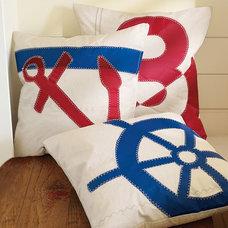 Eclectic Decorative Pillows Pottery Barn Sea Bag Pillow Cover
