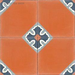 Contemporary Cement Tile - Colonial Doble Cement Tile from Cement Tile Shop