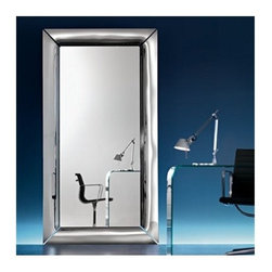 Fiam - Fiam | Caadre Freestanding Mirror, Neutral - Design by Philippe Starck.