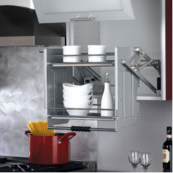 """Cabinet Accessories - Pull down shelf for 24"""" cabinet"""