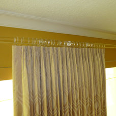 Contemporary Curtain Rods by Curtain Pros