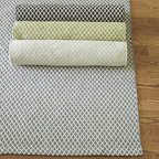 Ballard Designs - Parish Indoor/Outdoor Rug - Sizes are approximate. Available in several colors. Imported. Our remarkable Parish Indoor/Outdoor Rug is so soft, it's impossible to tell even up close that it's hand woven of durable, outdoor-safe polyester. Not recommended for high traffic areas. To clean, just wash with mild soap and water or rinse with a hose. Use of a rug pad, is recommended.Parish Rug features:. . .