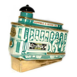 Vintage Cable Car Whiskey Bottle - Vintage Cable Car Whiskey Bottle