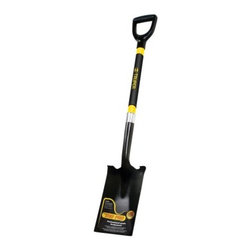 Truper Tru Pro Fiberglass D-Handle Spade - The Truper Tru Pro Fiberglass D-Handle Spade features a durable 14-gauge steel blade for maximum toughness. It offers commercial quality up to 400 pounds.About TruperTruper was born 50 years ago as a small workshop manufacturing sledge hammers, pickaxes, trowels, clamps, and vises. After five decades, Truper is a leading company that manufactures, distributes, and merchandizes tools for every segment of the hardware industry.