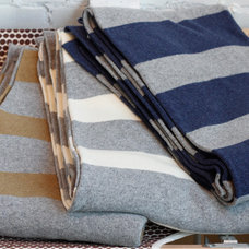 Contemporary Blankets by Alder & Co.