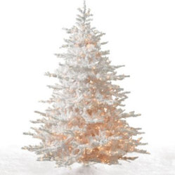 White Cascades Artificial Christmas Tree