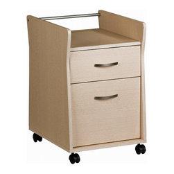 Techni Mobili Techni Mobili Rolling File Cabinet In Ash