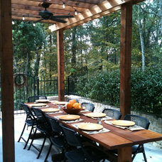 Transitional Deck by Western Patio Company