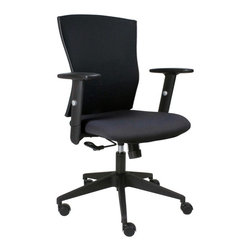 Jesper - Jesper Smart Office Chair with Arms - 5350 - Shop for Chairs from Hayneedle.com! About Jesper OfficeJesper Office originally based in Denmark specializes in making modular office furniture for homes and small businesses as well as a complementary line of modular library and home entertainment furniture. Now operating with a U.S. warehouse in Branchburg N.J. Jesper Office is committed to making high-quality flexible beautiful pieces with respect toward the environment. Furniture is made with contract-quality chipboard composed of pressed wood shavings and wood veneer a resource-effective and earth-friendly product.