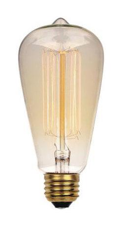 Westinghouse - Westinghouse 04132 Vintage Carbon Filament Light Bulb S/6 - Westinghouse 04132 Vintage Carbon Filament Light Bulb