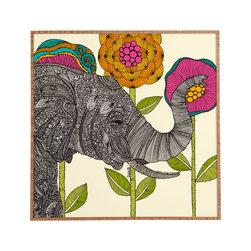 Valentina Ramos Aaron Framed Wall Art - Bamboo frame with high gloss print