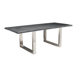 Lyon Dining Table, Grey Oak -