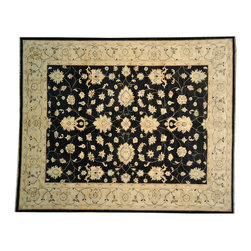 Oushak Oriental Rug, 8' X 10' Hand Knotted 100% Wool Vegetable Dyes Rug SH12541 - Hand Knotted Oushak & Peshawar Rugs are highly demanded by interior designers.  They are known for their soft & subtle appearance.  They are composed of 100% hand spun wool as well as natural & vegetable dyes. The whole color concept of these rugs is earth tones.