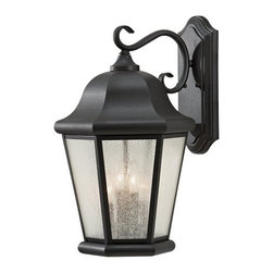 Murray Feiss - 4 Bulb Black Outdoor Lighting - - cUL Wet Approved.