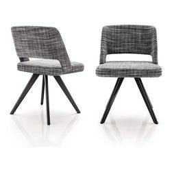 Minotti - Minotti Owens Chair - Metal Base - Owens is a family of armchairs and chairs that calls to mind a traditional yet unique kind of chair, featuring a rounded back and tapered legs. The simplicity of the Owens design is masterfully executed in the handcrafted construction of the chair using fine tailoring and traditional upholstering techniques. The chair sits on molded aluminum legs. Available in fabric or leather upholstry. Price includes shipping to the USA. Manufactured by Minotti.Designed in 2013.