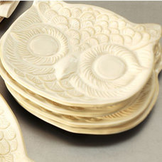Eclectic Plates by Pottery Barn
