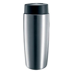 Jura - Jura Stainless Steel Milk Container with Lid, 14-oz - Thermal stainless-steel 20-ounce milk container. Keeps cold milk chilled for up to 8 hours. Works with Impressa, ENA automatic coffee and espresso centers Sleek, attractive design. Secure fitting lid. Wash by hand. Beautiful, compact design.