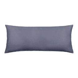 "Silver Fern Decor - 20"" X 54"" Solid Dark Gray Body Pillow Cover - - 20""x54"" pillow cover"