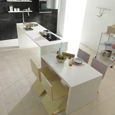 Contemporary Kitchen by Porcelanosa USA