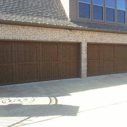 Garage Doors - Commercial glass garage doors.